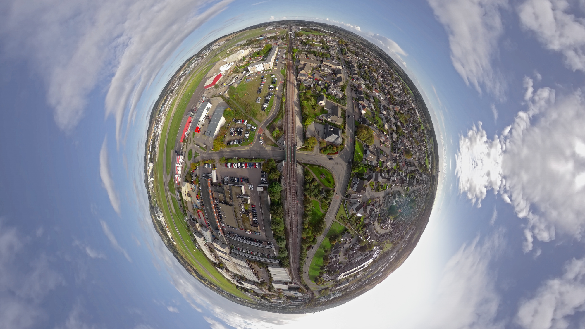 Network Rail A to I 360 Little Planet